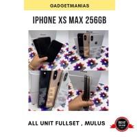 Iphone XS MAX 256gb original second fullset