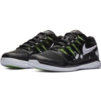 Sepatu Tenis Tennis Nike Air Zoom Vapor X HC PRM Black White Original