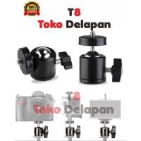 Mini Ball Head Tripod Kamera DSLR GorillaPod 1/4 Screw
