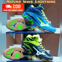 Sepatu volly voli mizuno wave lightning premium original