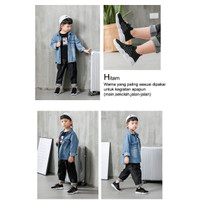 Sepatu Sneakers Anak Laki-laki Bear Monchiso FlyKnit Bahan Rajut - Hitam, 30