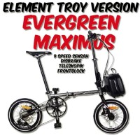 Evergreen Maximus 9Sp Discbrake Element Troy Fnhon Gust Blast Storm