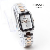 jam tangan WANITA PERSEGI PANJANG combi rosegold silver hitam biru