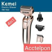 Kemei Clipper KM 1622 Alat Cukur Rambut Kumis Jenggot Sistem Cas
