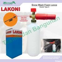 LAKONI Snow Wash Foam Lance Nozzle Type A