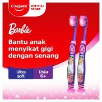 Colgate Kids Barbie Toothbrush/Sikat Gigi 6+ tahun x 2