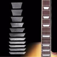 Stiker Fret Gitar Silver Fingerboard Guitar Label Sticker SV-92 Balok