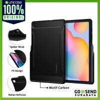 Case Galaxy Tab S6 Lite Spigen Rugged Armor Softcase Carbon Casing
