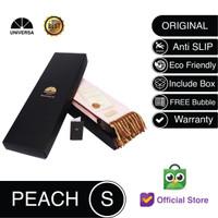 Sajadah Kepala Peach (S) - Sajadah Polos Bulu Rumbai Kulit UNIVERSA
