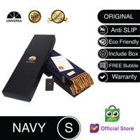 Sajadah Kepala Navy (S)- Sajadah Polos Bulu Rumbai Kulit UNIVERSA