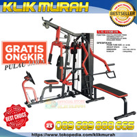 Home Gym 3 Sisi TL HG 016 | Multi Alat Fitnes Sit Up Bench