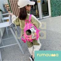 RUMAUMA Kids Backpacks Zebra Tas Anak Ransel Sekolah Modis Lucu Murah