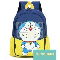 RUMAUMA Tas Doraemon Anak Lucu Ransel Sekolah TK SD Waterproof Cartoon
