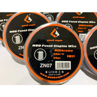 Geekvape kawat wire coil Fused Clapton Alien Nichrome Ni80 26ga*3+36ga - zn07
