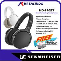 Sennheiser HD 450BT Noise Canceling Wireless Bluetooth Headphones