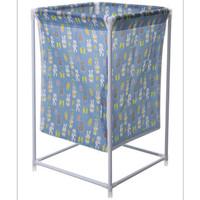 Keranjang Baju Cucian Pakaian Kotor Laundry Basket Motif Lucu - KB017