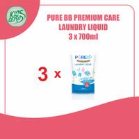 [SUPER BUNDLING] Pure BB Laundry Liquid Refill 700ml isi 3Pouch