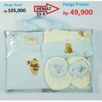 Baju Jumpsuit / Bodysuit / Jumper Giftset 4 Pcs in 1 bag, 3013