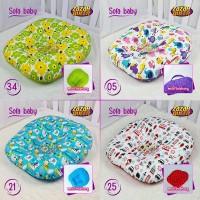 Sofa Bayi Newborn / Kasur Bayi Empuk dan Nyaman - Hijau