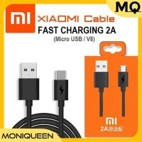 Kabel Data Charger Xiaomi Micro USB 2.A Fast Charging Cable Data