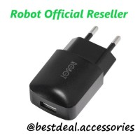 Robot RT-K2 1A Travel Charger Adaptor Original - Vivan Product