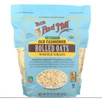 Bobs Red Mill Organic Old Fashion Rolled Oats Whole Grain