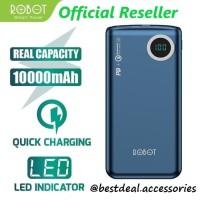 Robot RT100Q 10000mAh Powerbank Two Way Quick Charging LED PD QC3.0