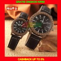 Paket Jam tangan Couple Pria wanita analog Digital Arloji Watch