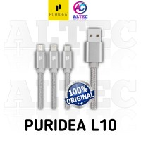 Kabel Data / Charger PURIDEA L10 Kualitas Premium 3 in 1 Original