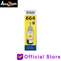 Tinta Epson 664 Original Yellow L100/L110/L120/L200/L220/L310/L360