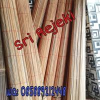 Tirai bambu 1,5M x 2 M (Sudah Katrol) Kerai Murah Kerei krey