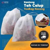 Kantong Teh Celup Kosong 100 Pcs Teabag