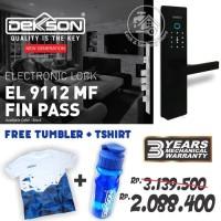 kunci Electronic smart digital lock dekkson EL 9112 MF fin pass