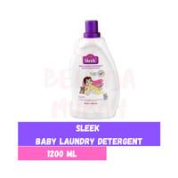 SLEEK Baby Laundry Liquid Detergent 1200ml 1200 ml Detergen bayi Sabun