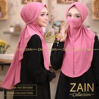 jilbab/kerudung/hijab/bergo instant masker zain qolbu khimar jersey