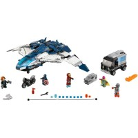 Lego The Avengers Quinjet City Chase - 76032