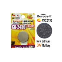 Eurocell Battery CR2430 lithium 3V