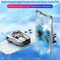SPIDER Cooling fan mobile phone cooler radiator ultra quiet recharge