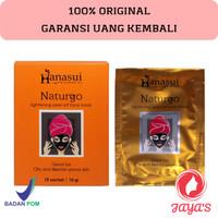 HANASUI Naturgo Lightening Peel Off Mask Masker Lumpur ORIGINAL BPOM