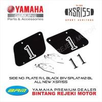 SIDE NO. PLATE R/L BLACK YAMAHA XSR155 B1VSPLATM2BL
