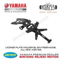 LICENSE PLATE HOLDER BL B1V-F162R-M3-BL ALL NEW XSR 155