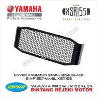 COVER RADIATOR STAINLEESS BLACK