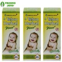 Tresno Joyo Minyak Telon Herbal Plus Citronella 60ml - 3pcs