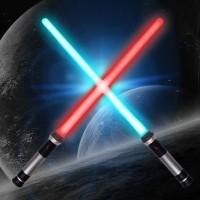 Pedang star wars / Mainan pedang Lightsaber Star Wars double blade