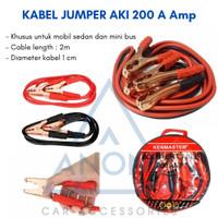 Kabel Jumper Aki 200 A Amp / Kabel Booster Starter Mobil Lowin