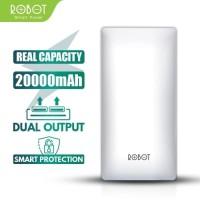 Powerbank Robot RT20 - 20000mAh Dual Input & Output ORIGINAL RESMI