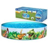 Kolam Renang Anak Bestway Fill & Fun Dinosaurus Pool 183 cm.