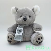 boneka koala abu abu muda syal large AUG