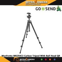 Manfrotto MK294C3 Carbon Tripod With Ball Head QR