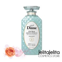 Moist Diane Extra Fresh & Hydrate Shampoo 450ML Made In Japan Original